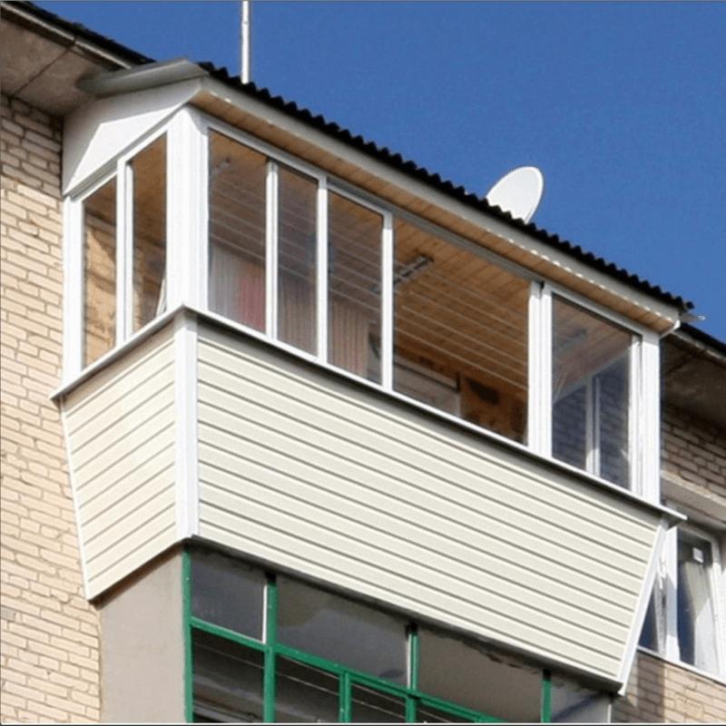 Остекление балконов в хрущевке: виды, характеристики, монтаж.